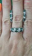 Серебряное кольцо с кварцем Фиолент