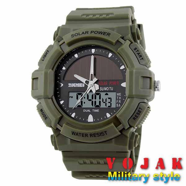 Часы SKMEI SOLAR 1050 (OLIVE)