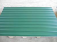 Профнастил 6005-зеленый, 1185/1200 мм.