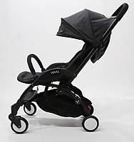Самая удобная и легкая детская прогулочная коляска YOYA PREMIUM, b/Black