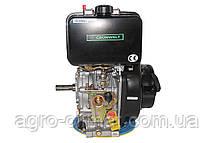 Двигатель дизельный GrunWelt GW186FВ (9,5 л.с., шпонка), фото 3