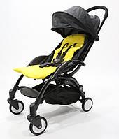 Самая удобная и легкая детская прогулочная коляска YOYA PREMIUM, w/Yellow Micky