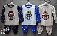 Пижама для мальчиков оптом, Setty Koop, 1-5 лет,  № PJM044