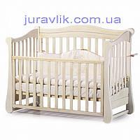 Детская кроватка Соня Белая
