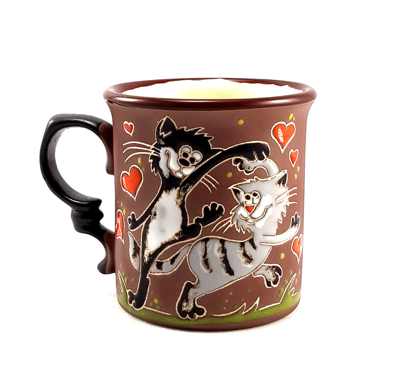 """Чашка керамическая """"Коты танцуют"""""""