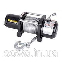 ✔️ Лебедка автомобильная 6000Lb | 1,3 кВт | электролебедка, фото 2