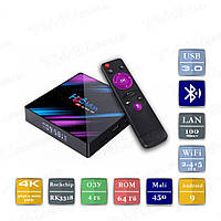ТВ приставка H96 MAX Smart TV Box 4/64 Гб