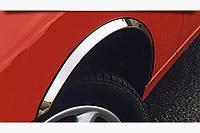 Накладки на арки (4 шт, нерж) Audi A6 C4 1994-1997 гг.