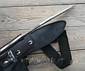 Мачете кукри стальное лезвие (сталь), рукоять композитный материал, ножны Нейлон Viking Viking Nordway Kukri , фото 4
