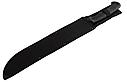 Мачете кукхри стальное лезвие (черная сталь), рукоять пластик, тканевый чехол, Kukri кукри, фото 2