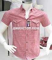 Рубашка мужская приталенная 100% хлопок Турция, фото 1