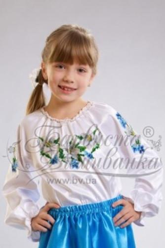 """Заготовка для вишивання дитячої блузи-вишиванки """"Лілеї"""" БД-006"""