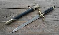 Кортик кинжал морской Бриг ножны чистое лезвие копия наградного оружия, качество на подарок