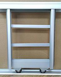 Раздвижная система шкаф-купе на 2 двери для самостоятельной сборки Ш1000мм х В2000мм