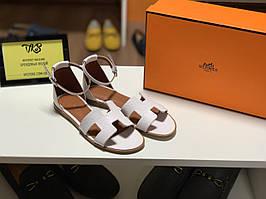 Кожаные женские сандалии Hermès