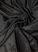 Атлас Чёрный (ш 150 см)