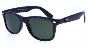 Мужские солнцезащитные очки в стиле RAY BAN Wayfarer 2140 (black)