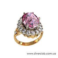 Золотое кольцо с большим камнем