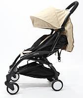 СУПЕР лёгкая и удобная детская прогулочная коляска YOYA 165 (обновлённая) b/Coffe