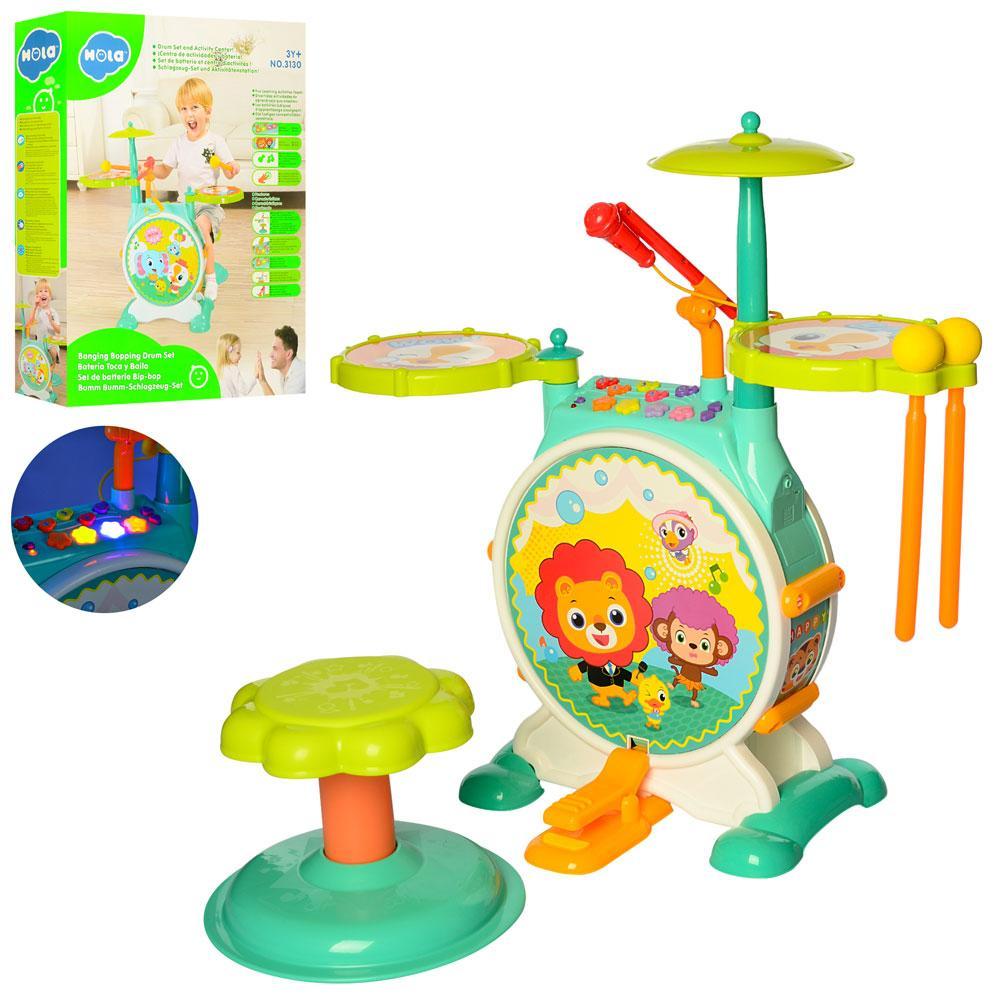 Барабанная установка для детей Hola арт. 3130