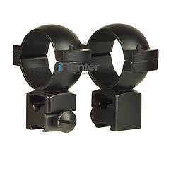 Кронштейн кольца на планку ласточкин хвост 11 мм, 2 шт комплект для оптического/ коллиматорного прицела