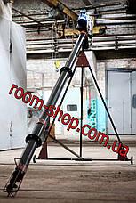 Шнековый конвейер (погрузчик, транспортер) диаметром 133 мм, длиною 5 метров, фото 3
