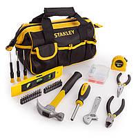 Набор инструментов STANLEY в сумке 44х20х18см, 62 шт.