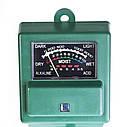 Измеритель влажности, рН и освещенности почвы люксметр AMT-100 3 в 1 , фото 6