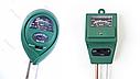 Измеритель влажности, рН и освещенности почвы люксметр AMT-100 3 в 1 , фото 7