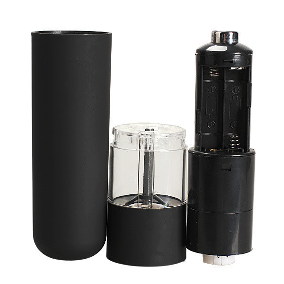 Электрическая перечница спецовница измельчитель с керамическим измельчителем со светодиодной подсветкой.