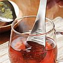 Мини терка - ложка из нержавеющей стали для чеснока, имбиря, шоколада, кофе и др, фото 2