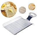 Мини терка - лопатка из нержавеющей стали для чеснока, имбиря, шоколада, кофе и др, фото 5
