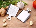 Мини терка - лопатка из нержавеющей стали для чеснока, имбиря, шоколада, кофе и др, фото 7