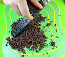 Терка 3 шт из нержавеющей стали с пластиковыми накладками чехлами для цедры, имбиря, шоколада, кофе и др, фото 7