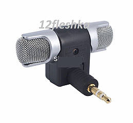 Двойной стерео микрофон для цифрового диктофона, телефона с выходом-штекером 3,5 мм разъем под наушники