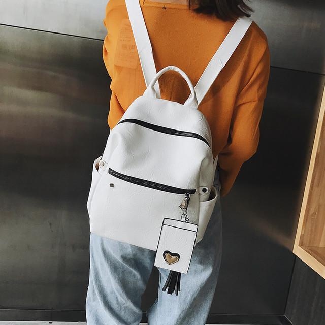 Рюкзак женский Style белый