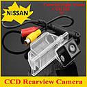 Камера заднего вида Nissan X-TRAIL 2008 2009 2010 2011 2012 годы выпуска, цветная матрица CCD, фото 6