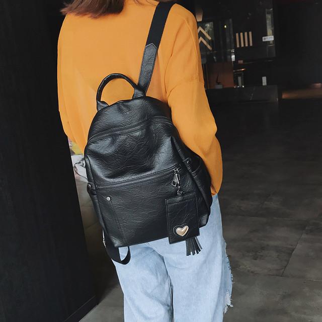 Рюкзак женский Style черный