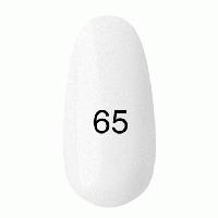 Гель лак Kodi 7 мл. Цвет №65 - полупрозрачный, белый, эмаль