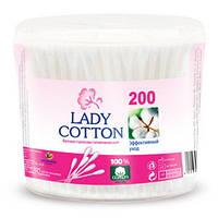 Ватные палочки Lady cotton 200шт. (банка)