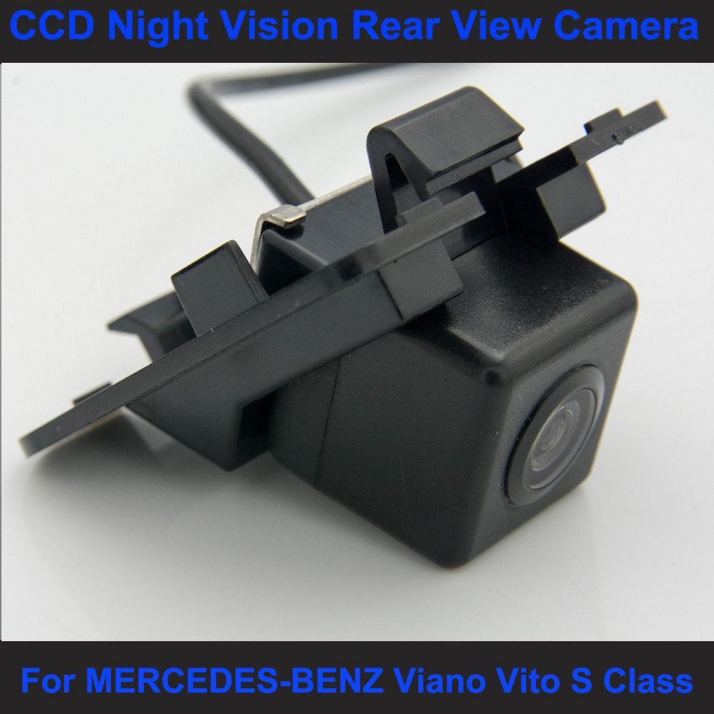 Камера заднего вида универсальная мерседес бенз с класс Mercedes-Benz S Class цветная матрица CCD