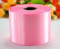 "Лента атласная 5см ширина (25 ярдов) ""LiaM"" Цена за рулон. Цвет - Розовый светлый"