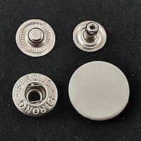 Кнопка АЛЬФА с белой пластиковой шляпкой 20мм (720шт.)