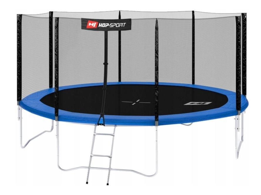 Батут 427cm Hop-Sport + лестница