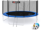 Батут 427cm Hop-Sport + лестница, фото 3