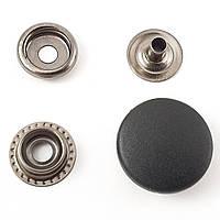 Кнопка №61 с Черной пластиковой шляпкой 20мм
