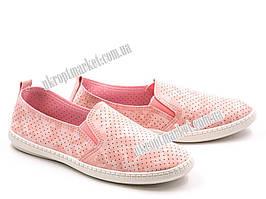"""Слипоны женские 4-455 pink (8 пар р.36-40) """"Violeta"""" LB-1125"""