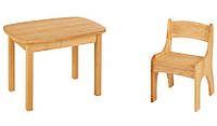 Набор EkoKids №3 (стол+стул) TM Mobler