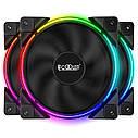 Набор PcCooler RGB-вентиляторов Corona 3-in-1 FRGB KIT, фото 2