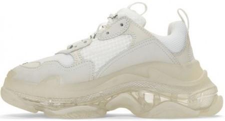 """Женские кроссовки Balenciaga Triple S """"White"""" в стиле Баленсиага"""